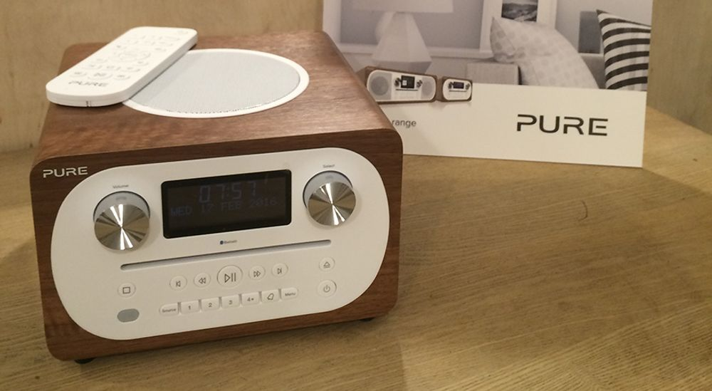 Radio  numérique et FM avec lecteur CD et fonction Bluetooth® A2DP - PURE Evoke C-D4