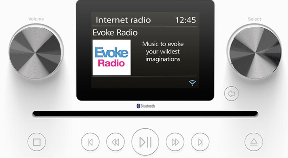 Radio  stéréo numérique, FM et Web avec lecteur CD et fonction Bluetooth® A2DP - PURE Evoke C-F6