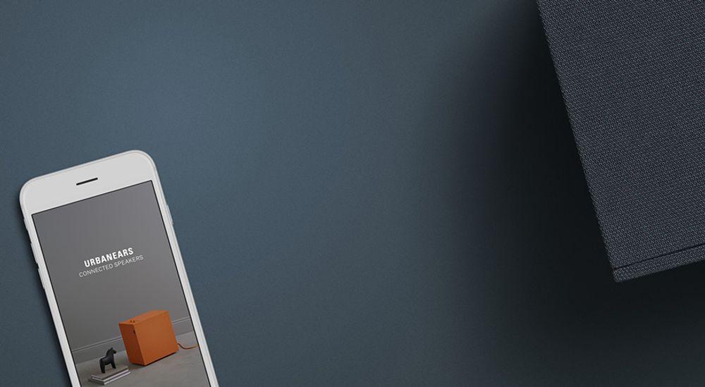 Enceinte sans fil Bluetooth®, Wi-Fi™ et multiroom - URBANEARS BAGGEN