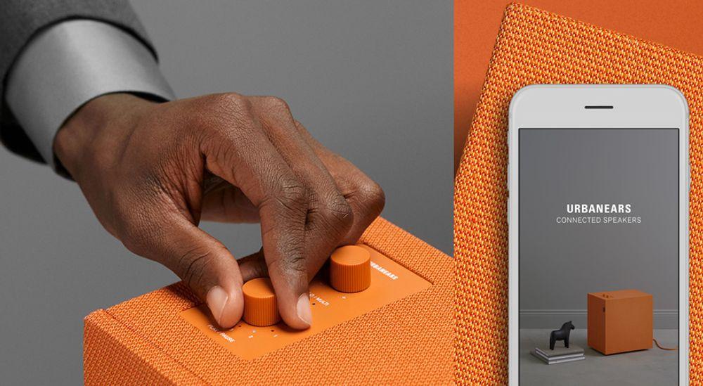 Enceinte sans fil Bluetooth®, Wi-Fi™ et multiroom - URBANEARS STAMMEN