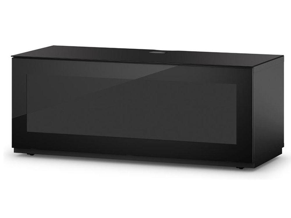 Ecran tv guide d 39 achat for Meuble tv noir 110 cm