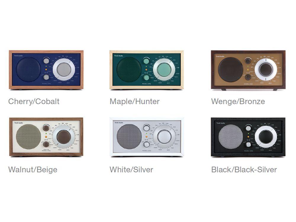 tivoli model one blanc argent radios. Black Bedroom Furniture Sets. Home Design Ideas