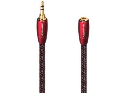 AUDIOQUEST Golden Gate Mini-Jack 3.5mm mâle/femelle (2m)
