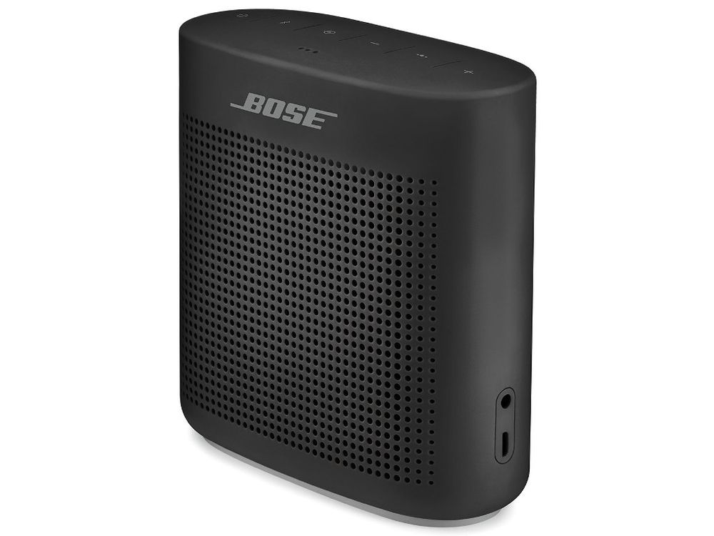 enceinte sans fil bose soundlink color ii noir. Black Bedroom Furniture Sets. Home Design Ideas
