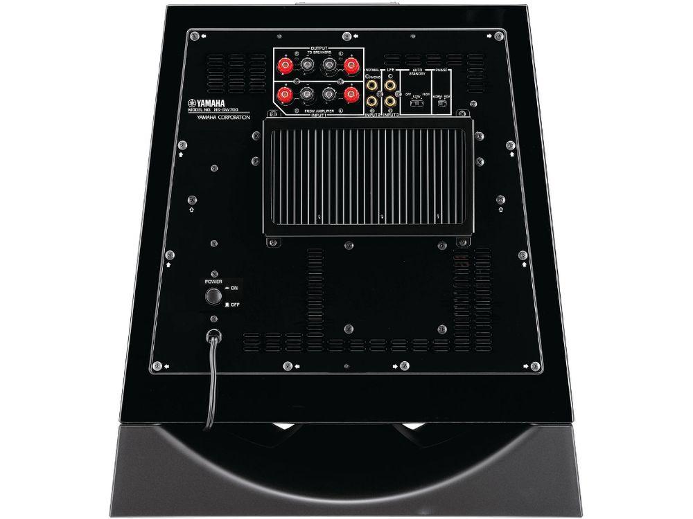 yamaha ns sw700 piano black caissons de basses. Black Bedroom Furniture Sets. Home Design Ideas