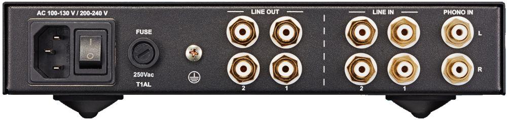 Connectique du NuPrime HPA-9
