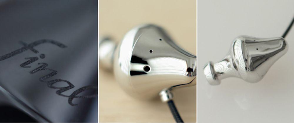 Admirez la finition irréprochable de ce magnifique casque intra signé Final Audio Design