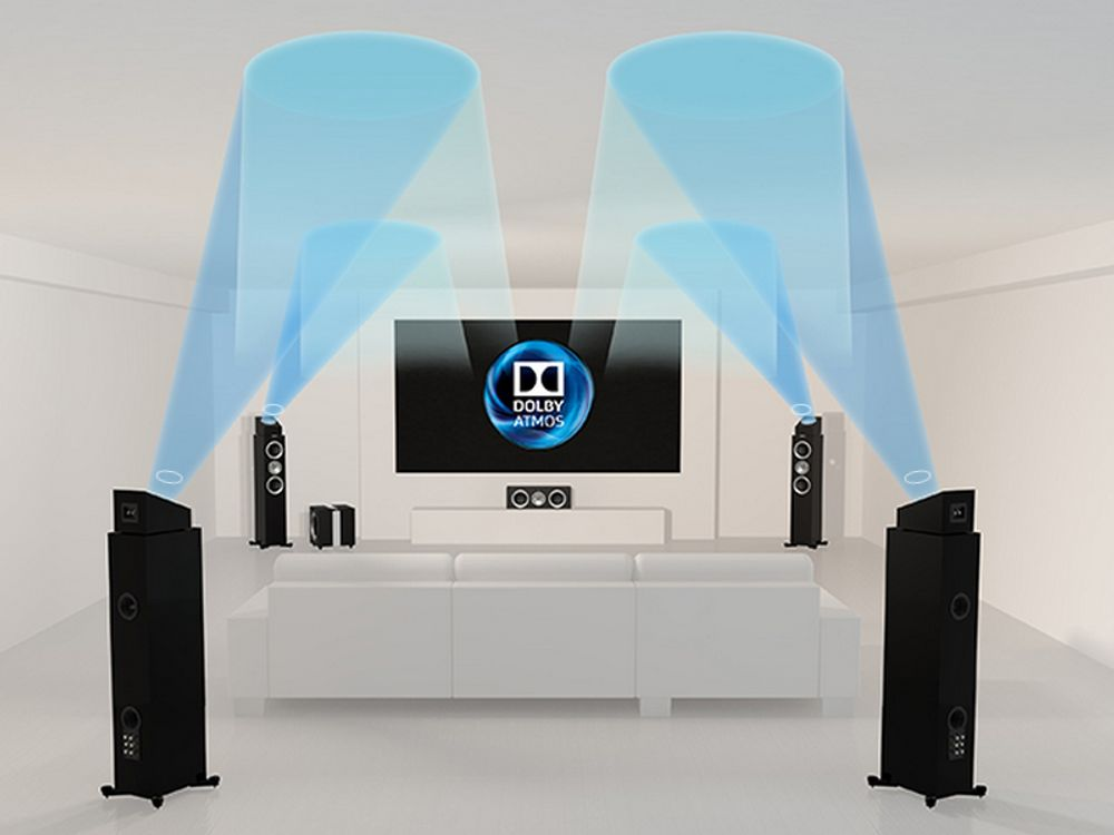 KEF R50 pour Dolby Atmos