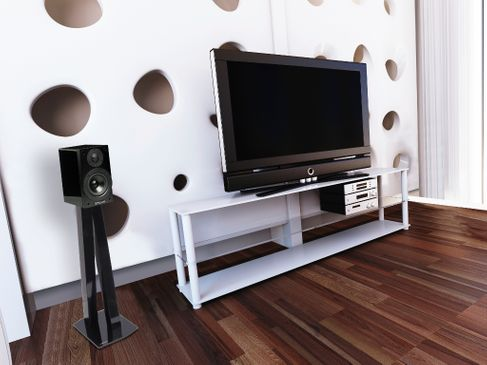 NorStone Walk Stand Speaker Stand Norstone-walk-stand-noir-la-paire