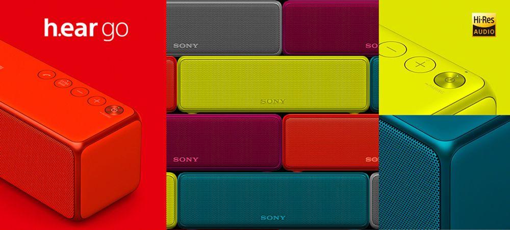 Enceinte sans fil transportable Bluetooth®, NFC™ et Hi-Res - Sony SRS-HG1