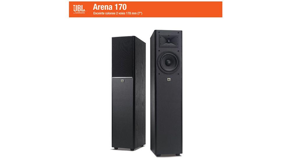 Enceinte colonne Surround 2 voies Bass-Reflex avec technologie HDI - JBL ARENA 170