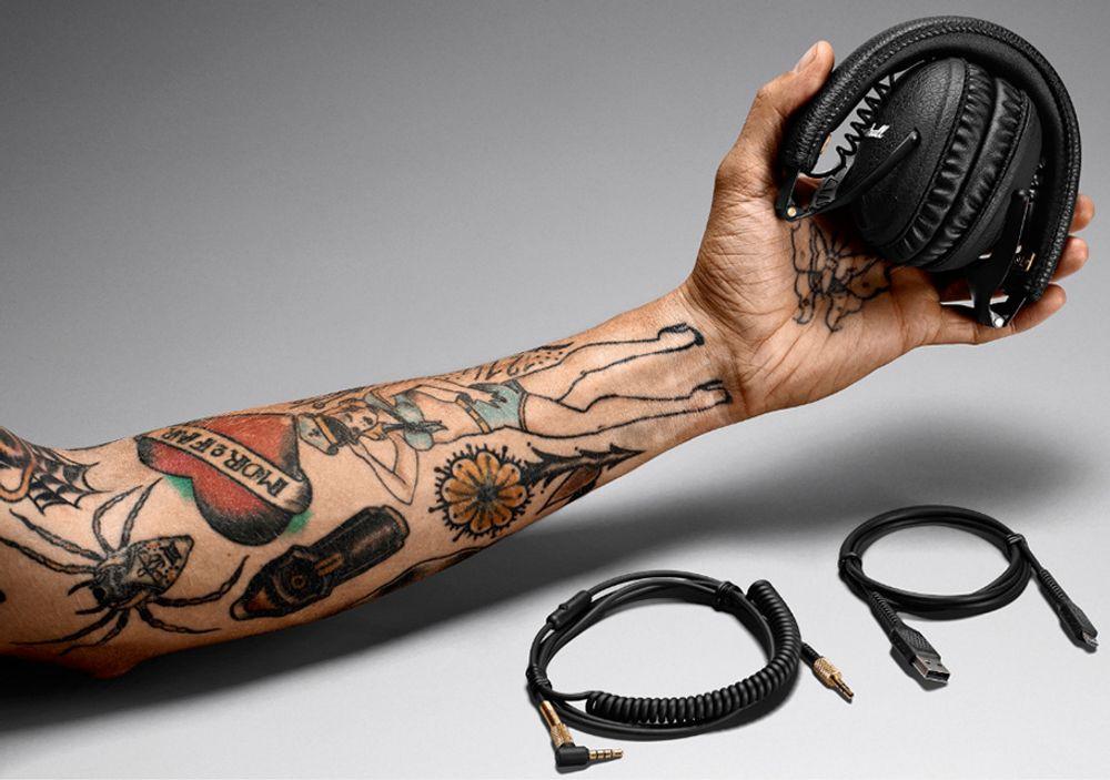 Casque sans fil Bluetooth® avec transducteur dynamique de 40 mm - MARSHALL Monitor Bluetooth®