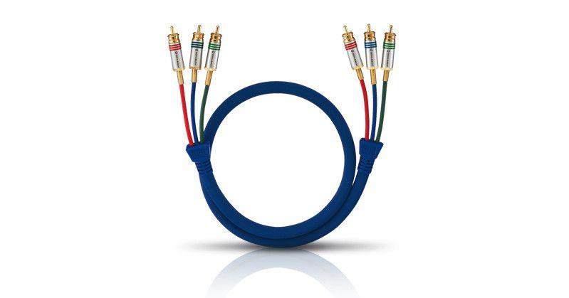 Raccorder les câbles jaunes blancs rouges