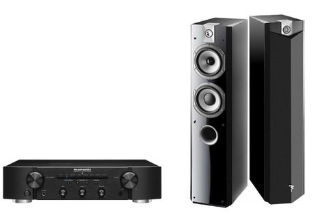MARANTZ PM6006 Noir + FOCAL Chorus 716 High Gloss