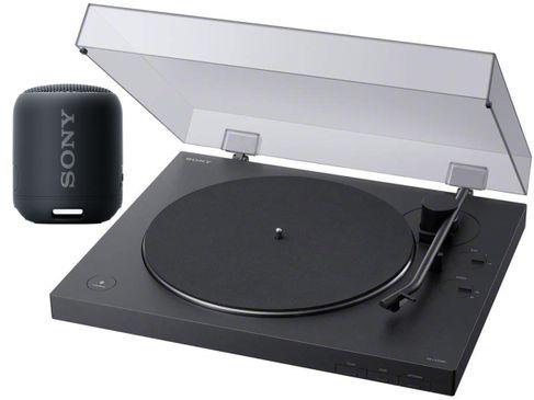 SONY PS-LX310BT + Sony SRS-XB12