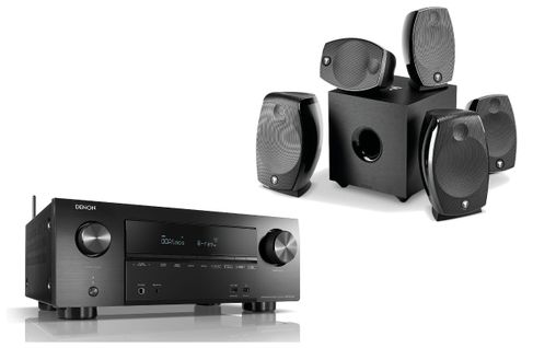 DENON AVR-X2600H + FOCAL PACK SIB EVO DOLBY ATMOS 5.1.2 Noir