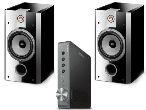 YAMAHA MUSICCAST WXA-50DS + FOCAL CHORUS 706 V Black High Gloss
