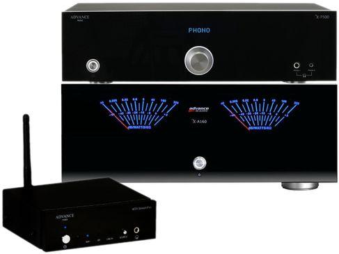 ADVANCE X-P500 + X-A160 + WTX-Streampro