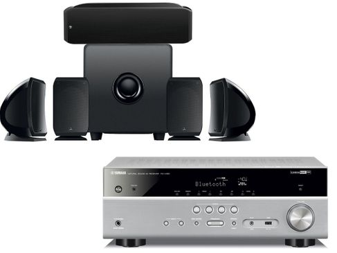 YAMAHA RX-V485 Titane + FOCAL Pack Cinema Plus