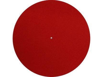 REGA Tapis feutre Rouge pour Planar 1 / Planar 3 / Planar 6