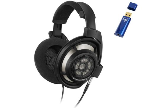 SENNHEISER HD 800 S + AUDIOQUEST Dragonfly Cobalt