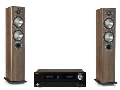 Advance Paris PlayStream A5 + Monitor Audio Bronze 5 Noyer