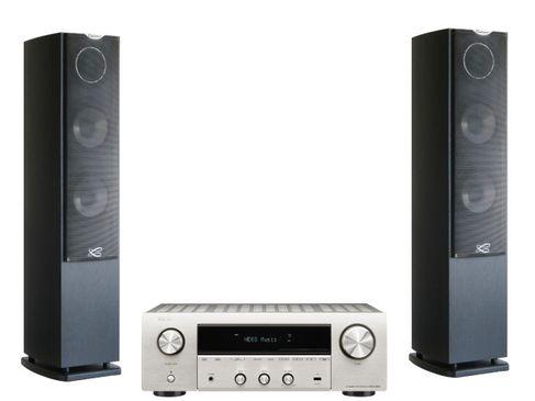 Denon DRA-800H Silver + Cabasse Jersey MC170 Noir