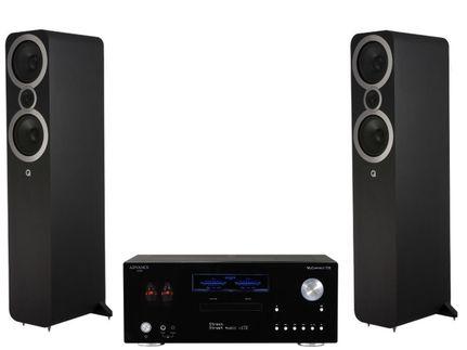 Advance Paris MyConnect 150 + Q Acoustics 3050i Noir