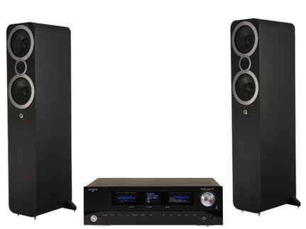 Advance Paris PlayStream A7 + Q Acoustics 3050i Noir