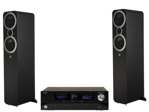 Advance Paris PlayStream A7 + Q Acoustics 3050i Noir