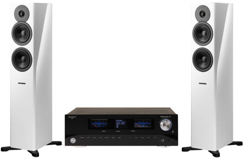 Advance Paris PlayStream A7 + DYNAUDIO EVOKE 30 WHITE HIGH GLOSS