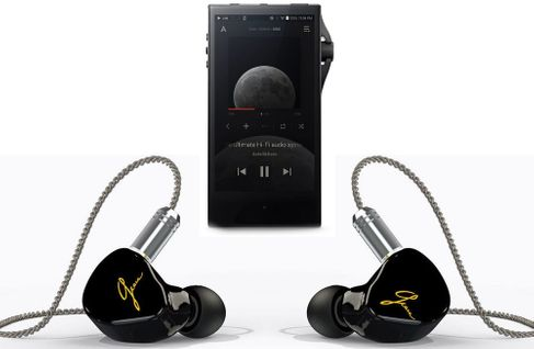 ASTELL & KERN SA700 Onyx Black + EARSONICS Grace HR