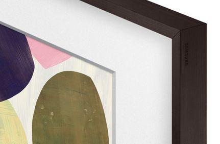 SAMSUNG The Frame Cadre 75 BW Noyer