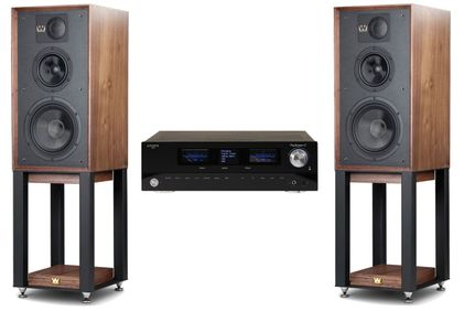 Advance Paris PlayStream A7 + Wharfedale Linton Heritage Walnut