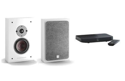 DALI OBERON ON-WALL C Blanc x 2 + SOUND HUB COMPACT