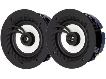 LITHE AUDIO 03211EU 6.5'' - Haut-parleur de salle de bain Bluetooth 5 - IP44 (la paire)