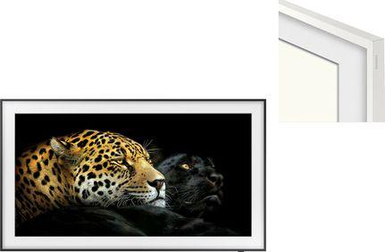 "SAMSUNG QE55LS03A The Frame 2021 + The Frame 55"" 2021 Blanc basique"