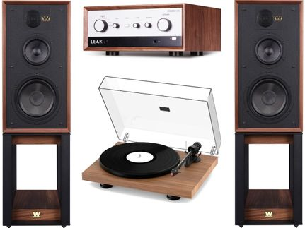 Leak Stereo 130 + ProJect Debut Carbon Evo + Wharfedale Linton Heritage Walnut