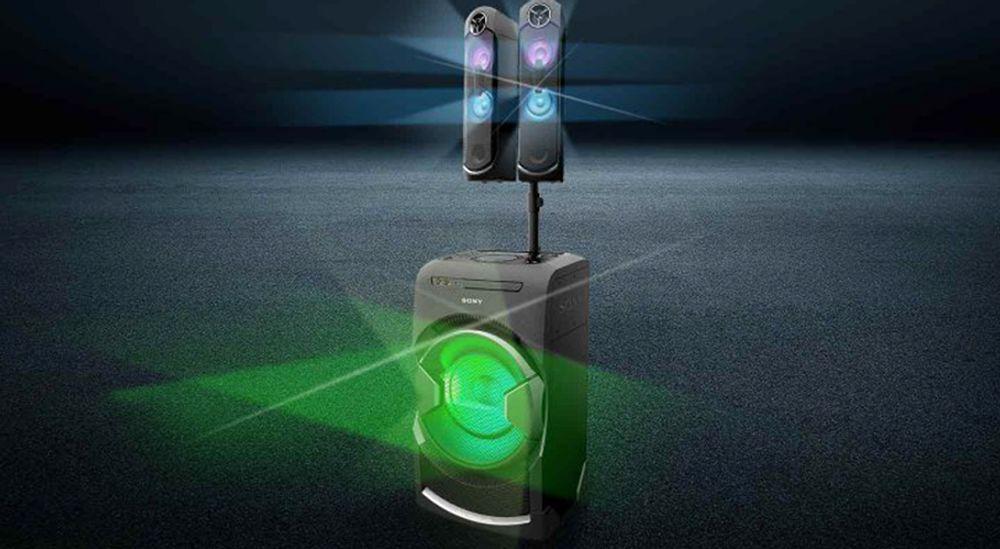 Système audio sans fil haute puissance de 1600 W RMS - SONY MHC-GT4D